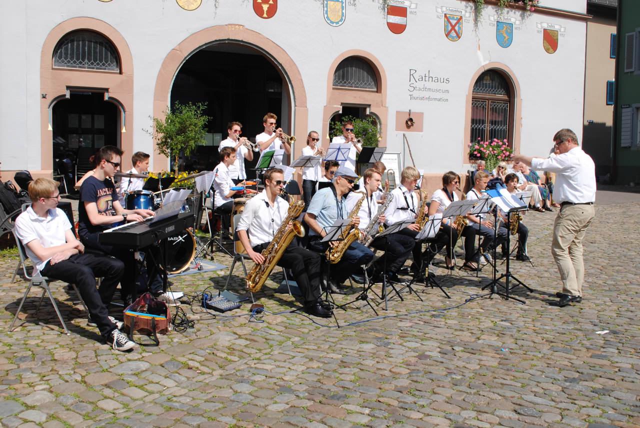 Big Band lernen: Bigband-Unterricht an der JMS