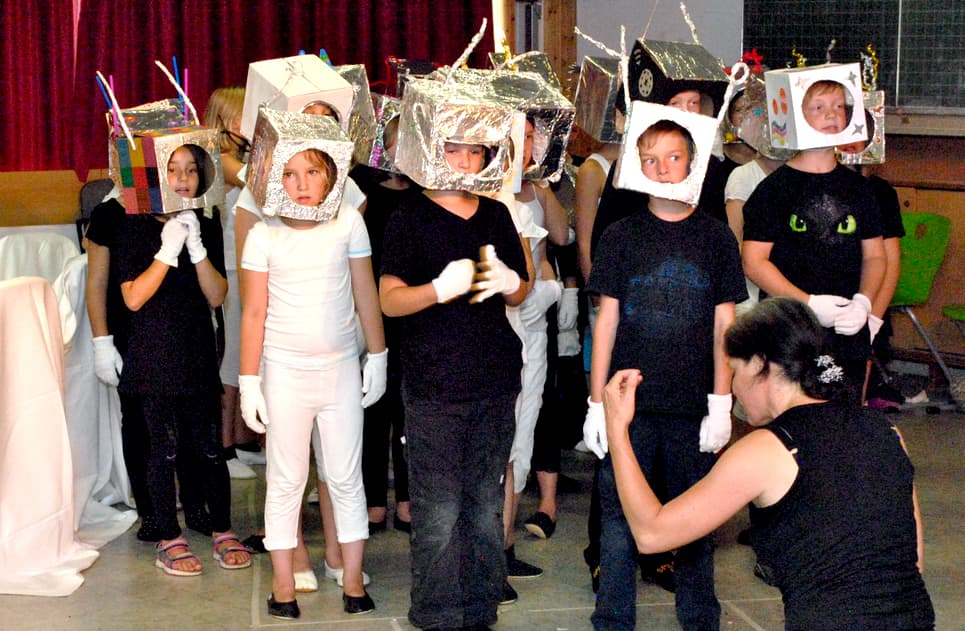Kinderchor lernen in Staufen: Kinderchor-Unterricht an der JMS