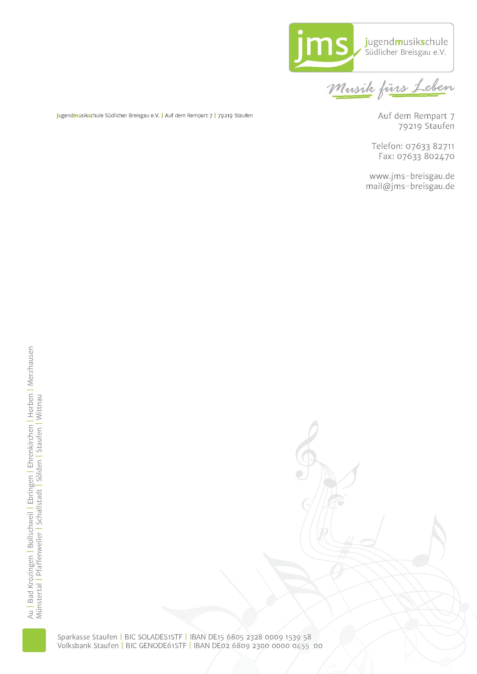 JMS Briefpapier