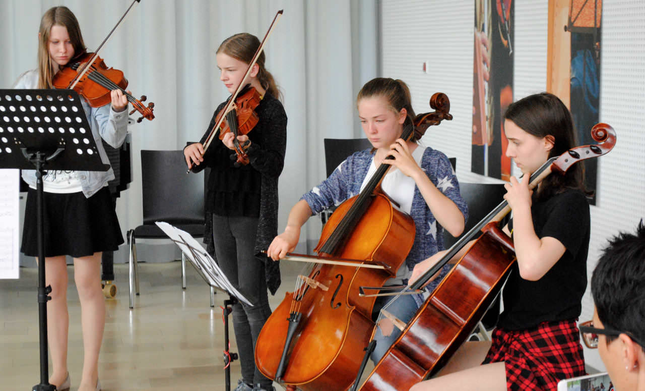 Kammermusik lernen: Kammermusik-Unterricht an der JMS