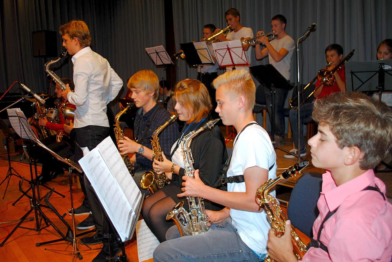Kids Big-Band an der Jugendmusikschule