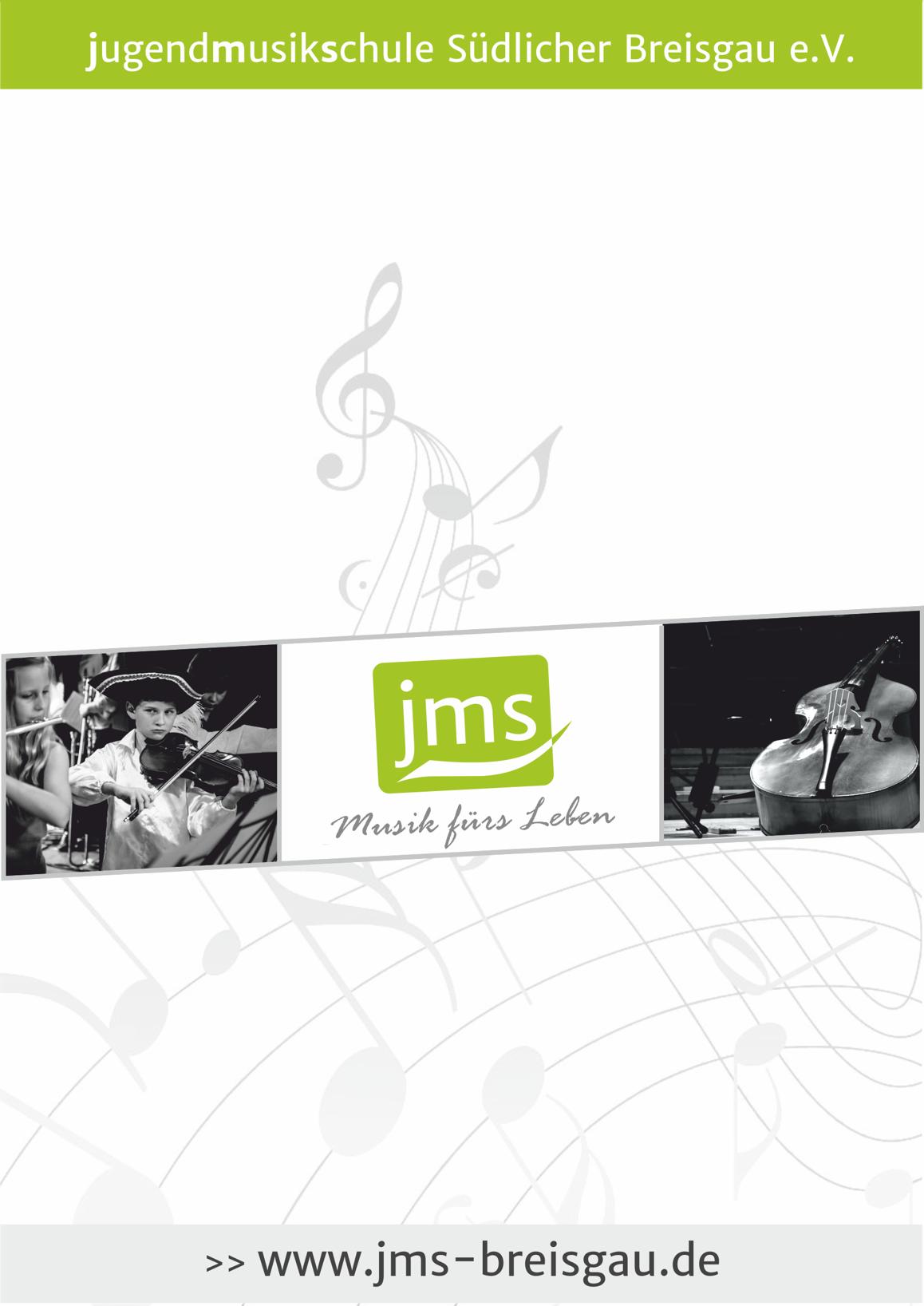 Vorlage Plakat eines JMS Schülerkonzert
