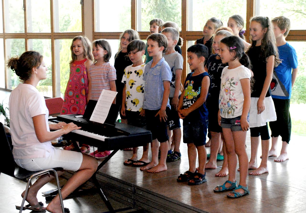 Schulchor lernen in Au: Schulchor-Unterricht an der JMS